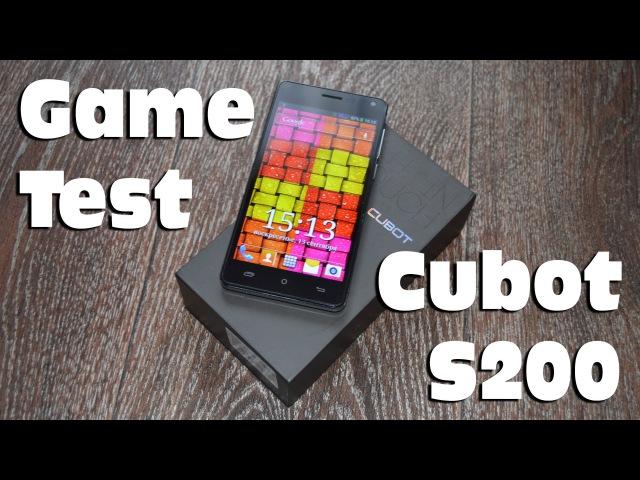 Cubot S200 Game Test из Китая с Aliexpress