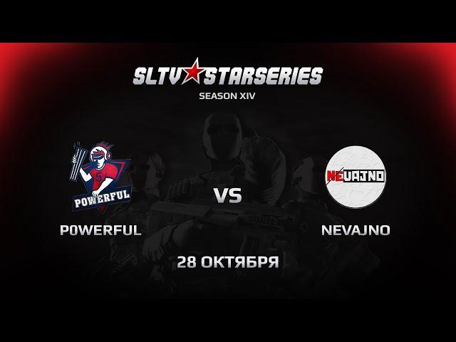 Nevajno vs P0WERFUL [SLTV Season XIV] @mid