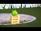 Angry Birds - Всем известную компьютерную игру теперь можно играть дома, на полу, с детьми!