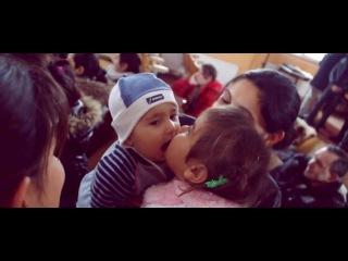Рождество для цыганских детей