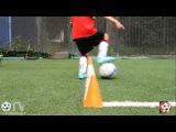 ДЮС ОФ | ГПN8 | Перекат мяча подошвой и ложное движение