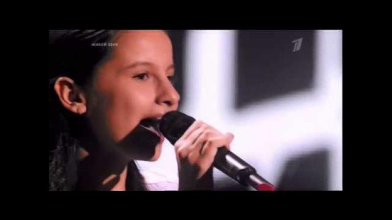 Голос - дети Виктория Оганисян - пятый элемент ария дивы