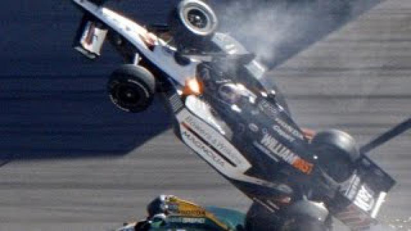 Жесткие и страшные аварии на формула 1 Катастрофа на гонках формула 1