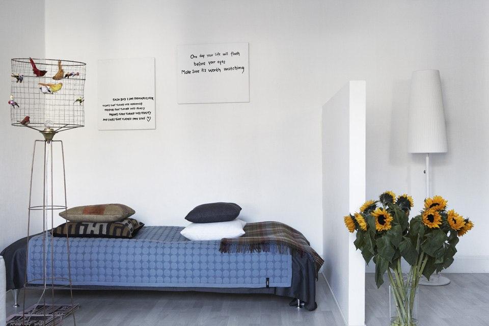 Интерьер квартиры-студии 38 м в Швеции.