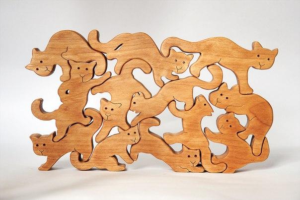 Пазлы деревянные своими руками