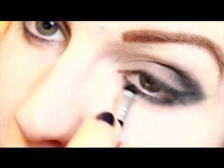 Макияж¦Эффектный_вечерний_макияж¦Smokey_eyes¦Ваша_Саша¦