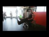 Мастер класс Victor Martinez Тренировка мышц бедра
