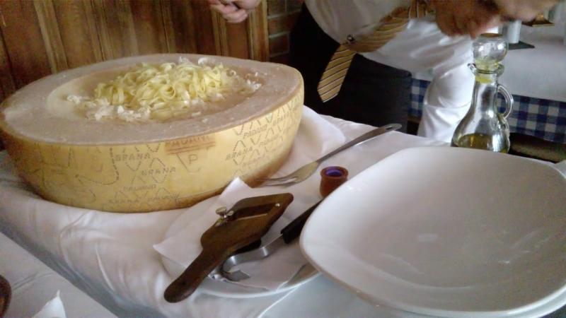 Pasta Parmejano Tartufo