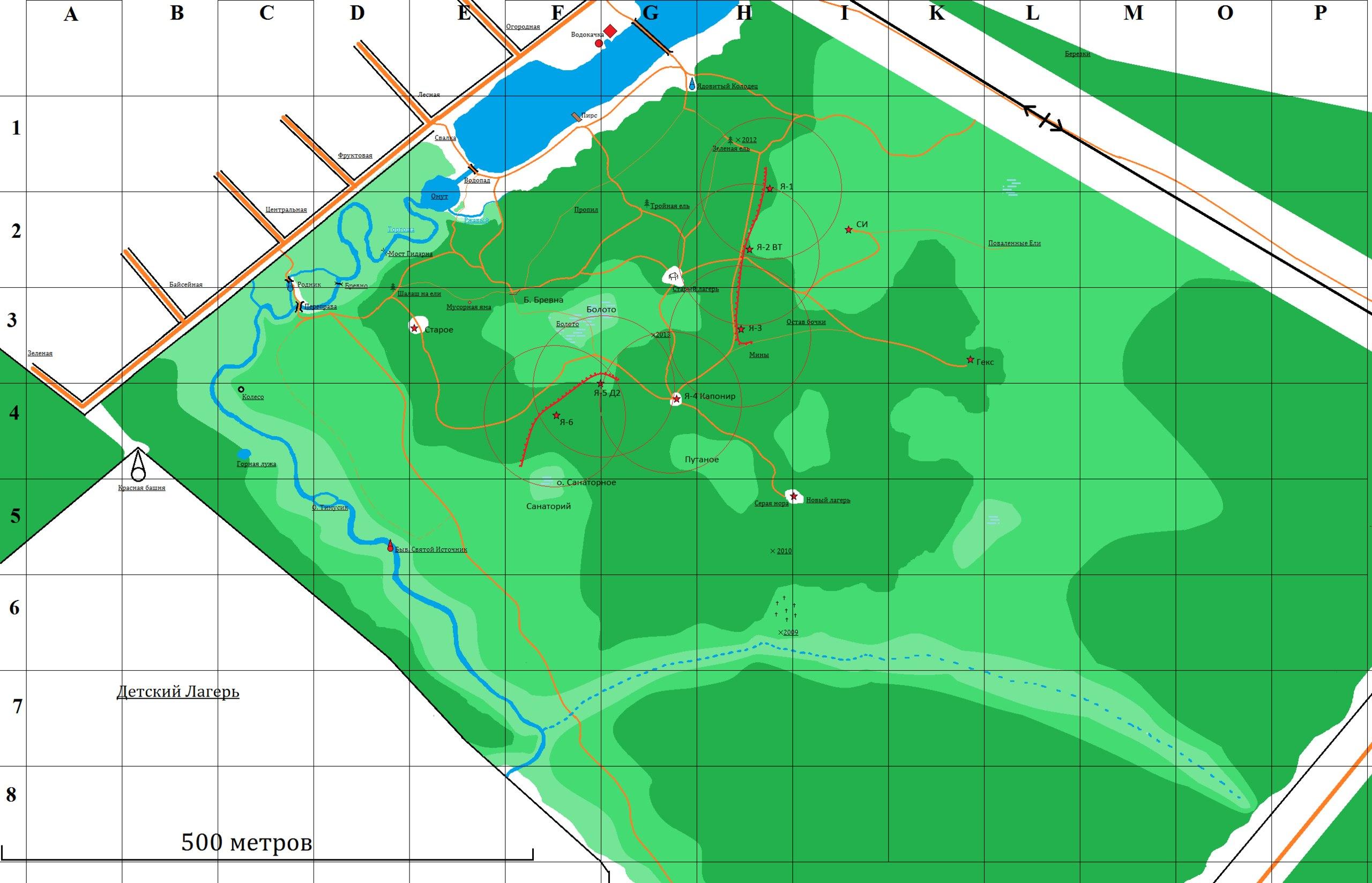 Игротехническая карта М2014.