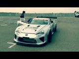 Первый и единственный в мире дрифтовый OTG Motorsports Lexus LFA с V8 Ямамуры