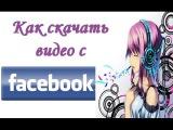 Как скачать видео с Фейсбука Скачать видео с facebook без программ