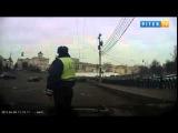 Московский водитель выехал наперерез президентскому кортежу как работает охрана