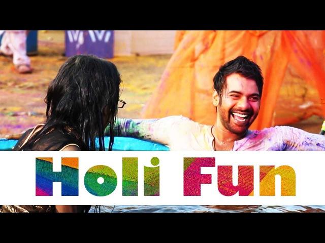 Abhi And Pragya's Funfilled Holi