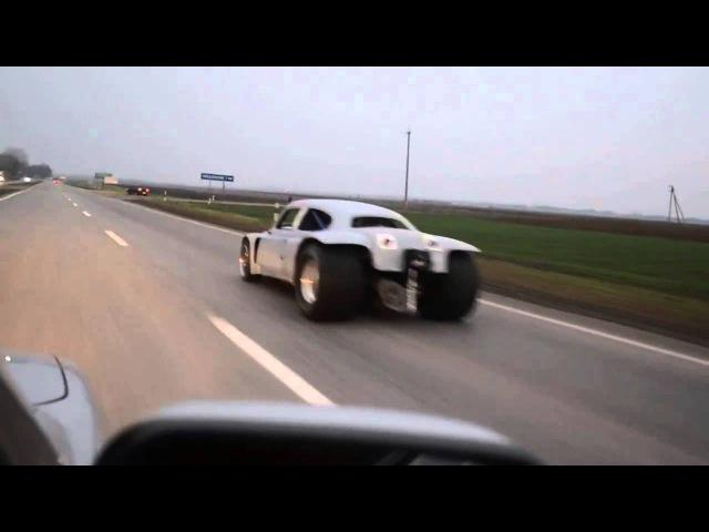 Нереально крутой горбатый запорожец ZAZ GTR, БЫСТРЕЕ ЧЕМ Lamborghini