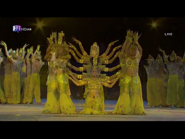 Авалокитешвара на Паралимпийских играх в Афинах. Аудио: Triangle Sun - Buddha