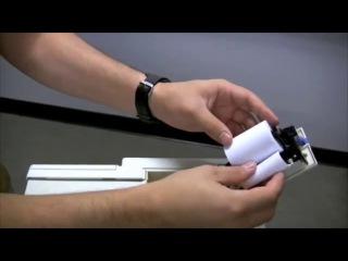 MES — Замена бумаги для принтера в анализаторе качества спермы SQA-V