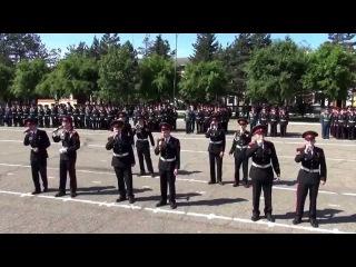 67 выпуск в Уссурийском суворовском военном училище (2014 год)