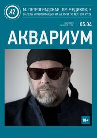 Аквариум / 05.04.2015 / А2. МИР / СПб