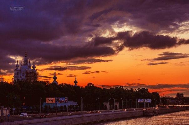 Закаты в Санкт-Петербурге