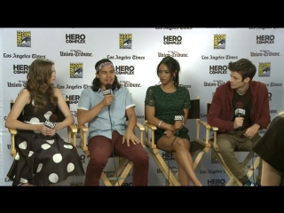 Watch 'the flash' cast react to the news that jay garrick will be joining the show