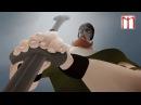 Весёлый мультфильм, о том как викинг попал в рай.