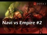 Pudge pick || NaVi vs Empire || Dota2 Champions League || Game 2 || Highlights