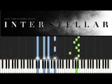 Interstellar - First Step (Piano Tutorial) Synthesia - Hans Zimmer (+ sheets)