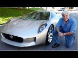 Jay Leno Reviews Jaguar C-X75