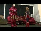 Transforming into Iron Man Cosplay MK4 2014