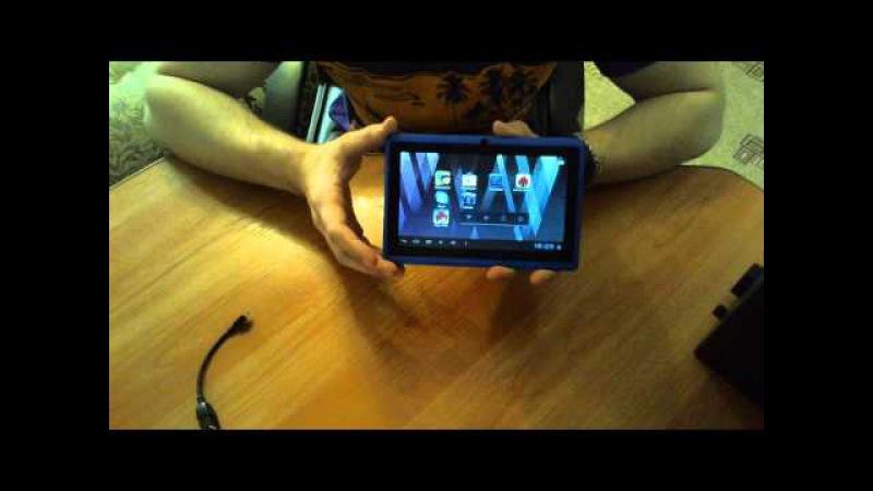 Обзор на китайский планшет Allwinner a13, YeahPad A13/Mid Q88