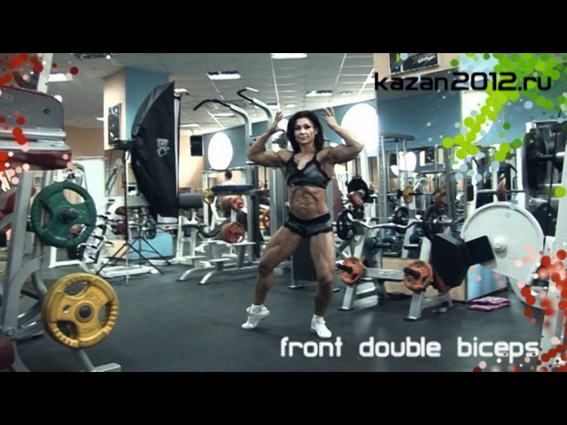 Natalia Bystrova 1 week out from NAC Bodybuilding Worlds 2012