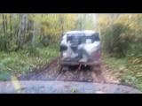 УАЗовод Нивера не бросит в глубокой колее )))