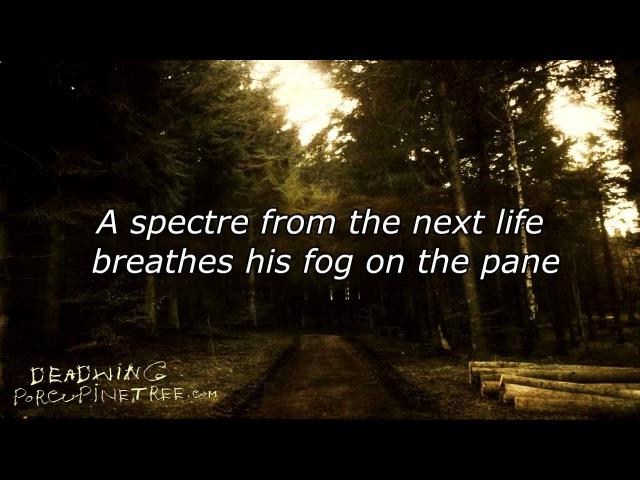 Porcupine Tree - Deadwing [Lyrics on Video]
