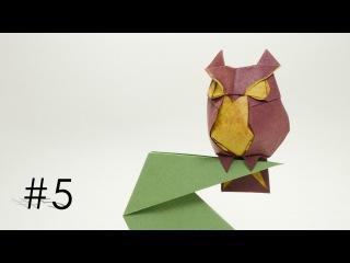 Origami Owl - Chim cú mèo (Hoang Tien Quyet)