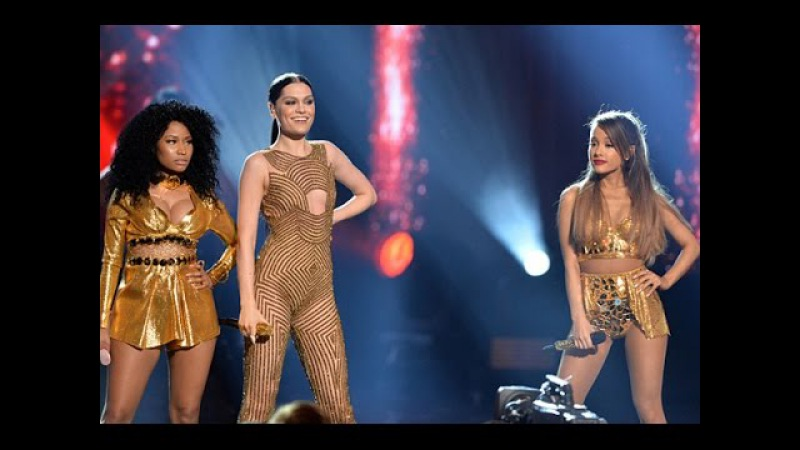 Jessie J ft. Ariana Grande Nicki Minaj - Bang Bang AMA's 2014
