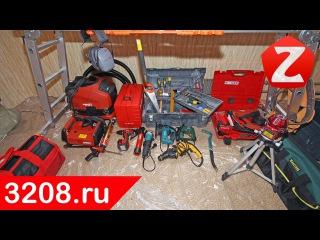 Инструменты для монтажа электропроводки, установки розеток и выключателей, штробления стен.