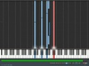 Within Temptation - Forgiven (Synthesia tutorial with voice part)