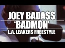 JoeyBada$$ 'BADMON' L.A. Leakers Freestyle