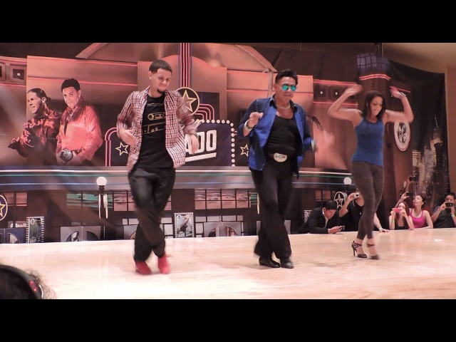 Taller de Shani Talmor Eddie Torres y Eddie Torres Jr @ Fusión Salsa Fest 2013