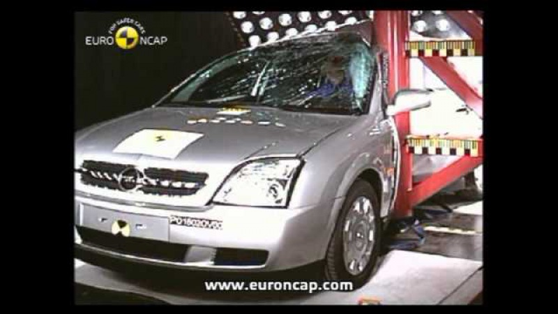 Euro NCAP Opel Vauxhall Vectra 2002 Crash test