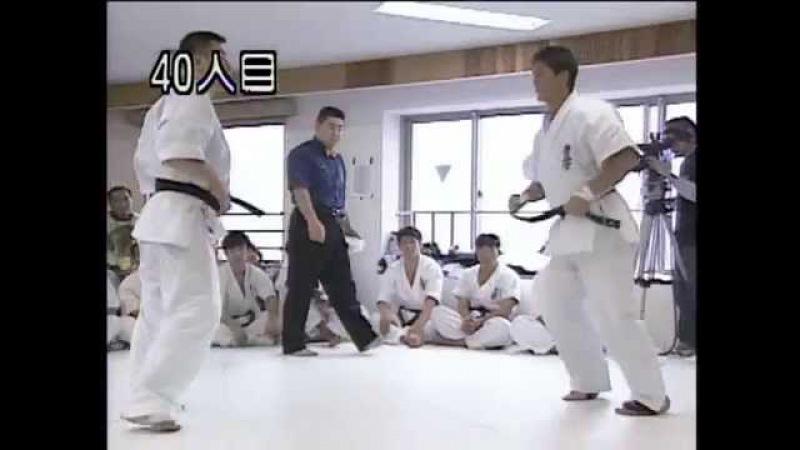 100 боёв киокушинкай каратэ Хаджимэ Кадзуми Hajime Kazumi