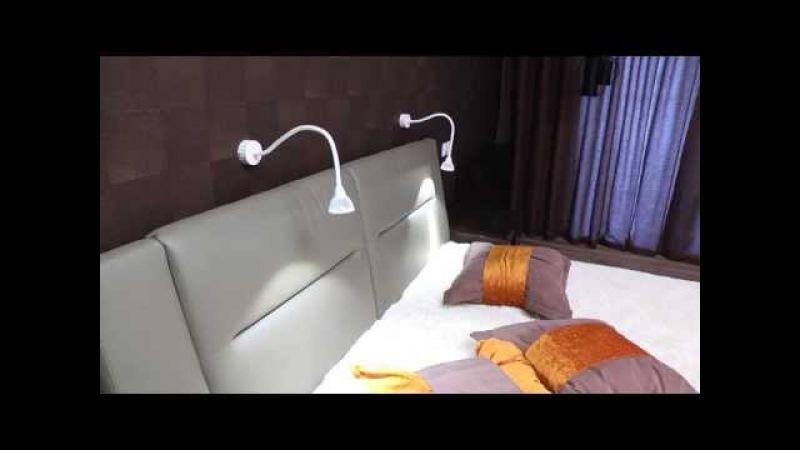 Дизайн интерьера Спальня Гардероб Санузел