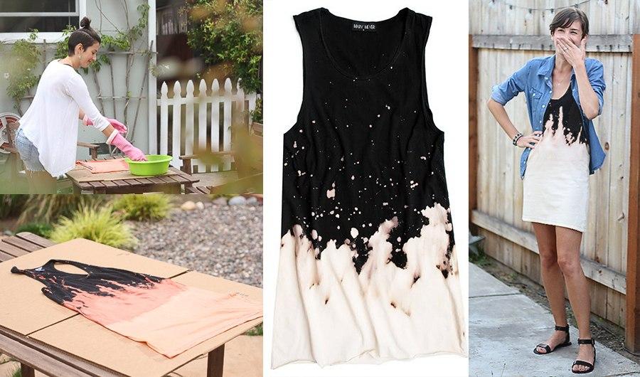 Как переделать старое платье на новую