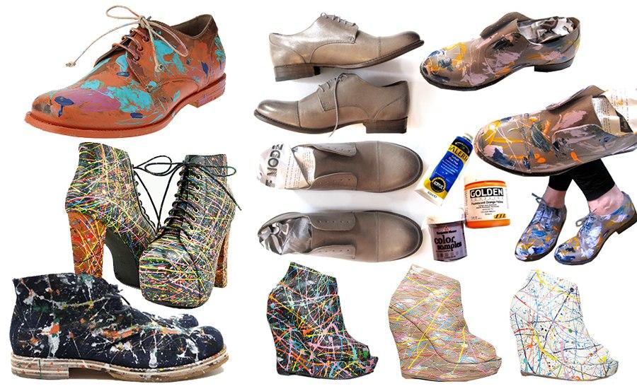 как обновить туфли