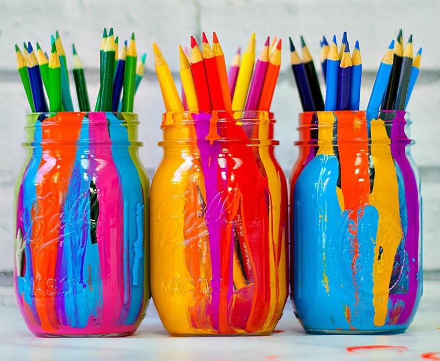 Джинсы в краске своими руками