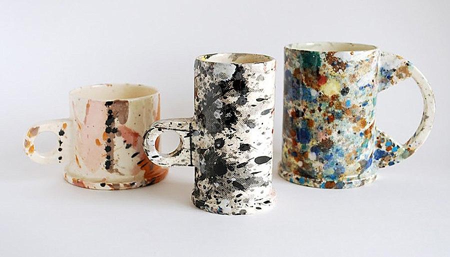 чашки декор