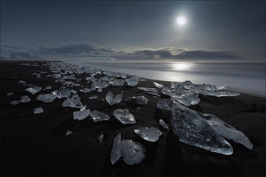 Пляж Исландия