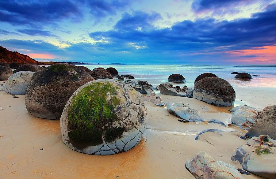 Новая Зеландия пляж