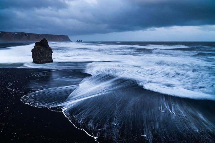 Исландия пляж