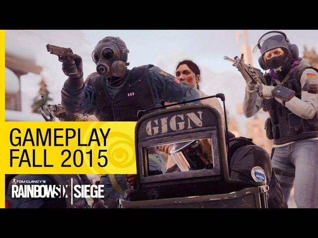 Tom Clancy's Rainbow Six Siege Official - Gameplay Trailer Fall 2015 [US]